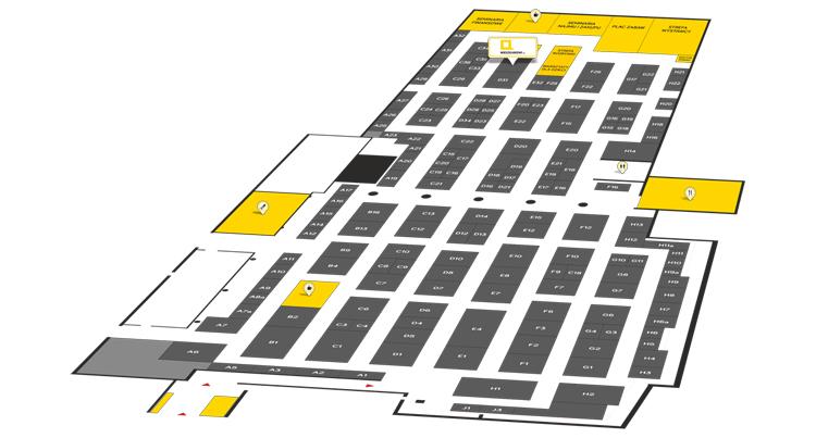 Mapa targów