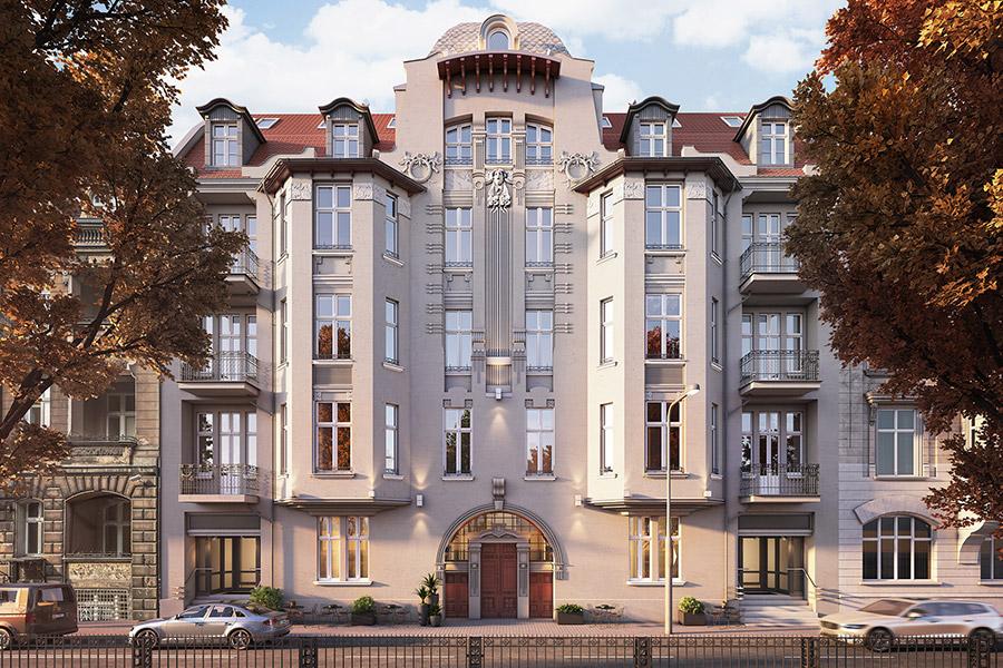 Mieszkaj, Pracuj, Żyj w centrum Poznania - kamienica