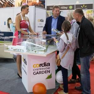 Targi mieszkaniowe w Krakowie – wystawca Cordia Cystersów Garden