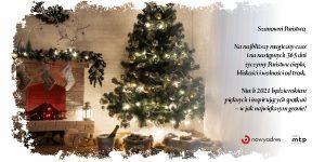 Wesołych, spokojnych i przede wszystkim zdrowych świąt życzy Nowy Adres!