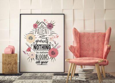 Plakat typograficzny – dodatek, który odmieni twoje mieszkanie