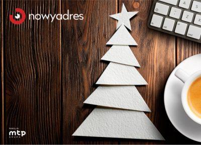 Wesołych Świąt życzy Nowy Adres!
